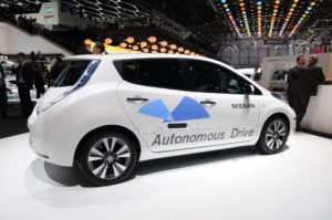 Driverless Car at Geneva Auto Show