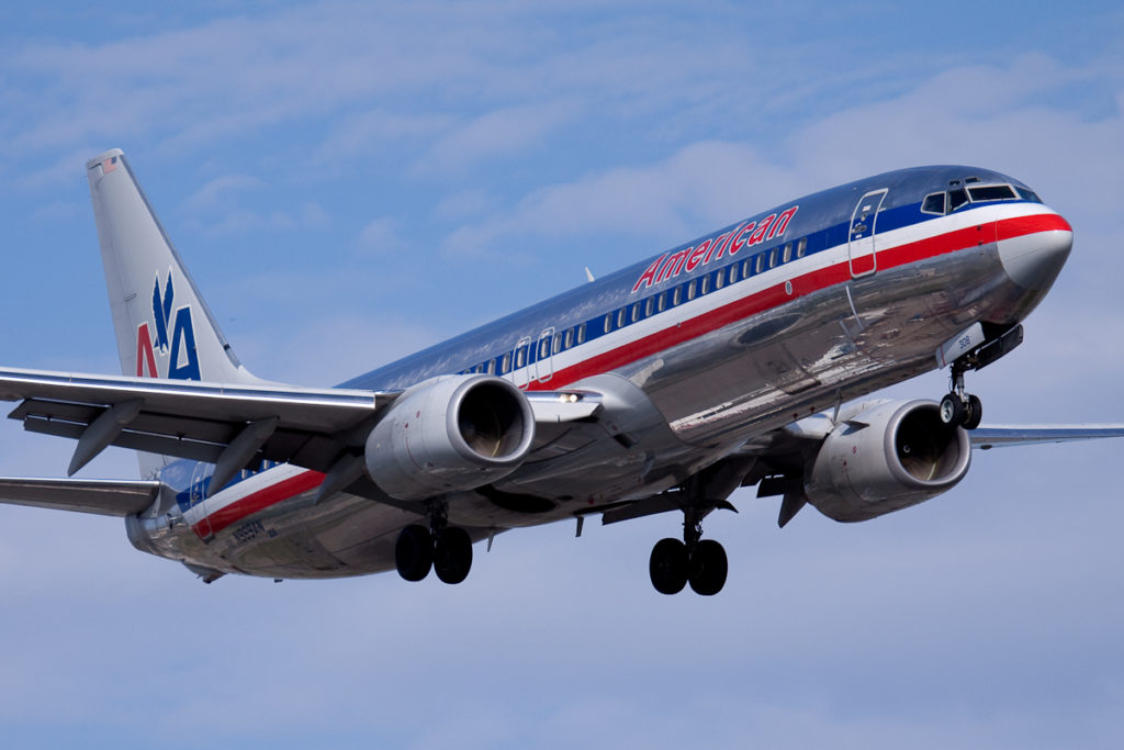 American Airlines Fire